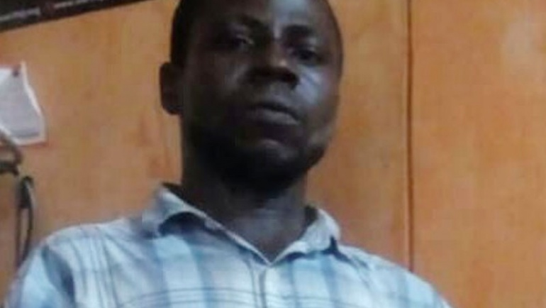 Photo: Bricklayer arrested in Lagos for sexually assaulting 3-year-old girl