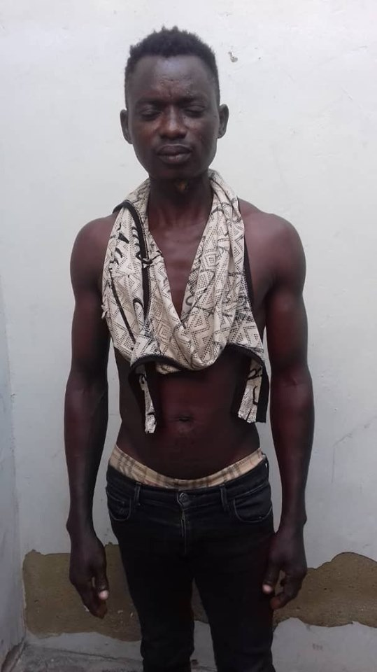 28-year-old man arrested for defiling eight year old girl in Lagos (photo)